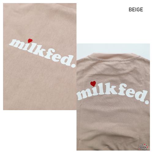 ミルクフェド 通販 Tシャツ レディース メンズ